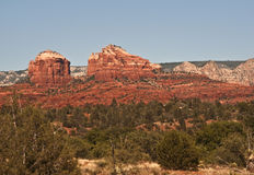 Red Rocks of Sedona. This is a picture of the red rocks of Sedona stock photography