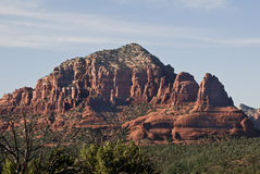 Red Rocks of Sedona. This is a picture of a Sedona mesa in Arizona stock images