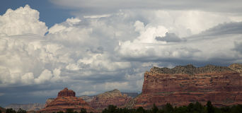Red Rocks of Sedona Stock Image