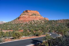 Red Rocks of Sedona Royalty Free Stock Photos