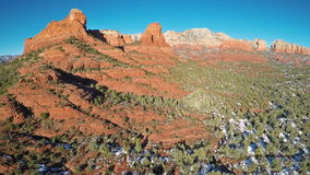 Red Rocks of Sedona stock footage