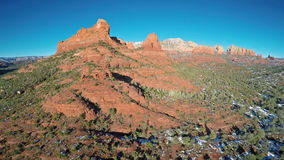 Red Rocks of Sedona stock video footage
