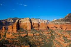 Red Rocks, Sedona Arizona. A scenic view of red rocks near sedona arizona Royalty Free Stock Photos