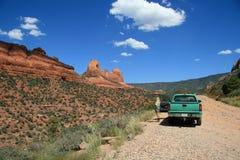 Red Rocks in Sedona, Arizona Stock Photo