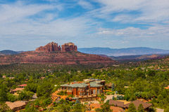 Red rocks in Sedona Royalty Free Stock Photography