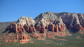 Red Rocks of Sedona, Arizona royalty free stock images