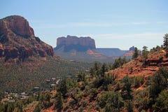 Red Rocks of Sedona, Arizona stock photography