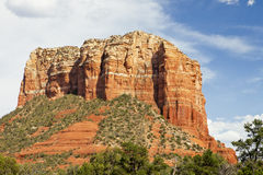The Red Rocks of Sedona Stock Photography