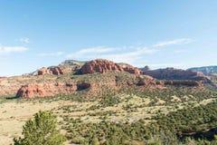Red Rocks of Sedona, AZ Royalty Free Stock Photography