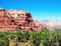 Red Rocks of sedona Stock Images