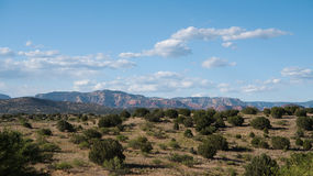 The red rocks of Sedona in the distance Stock Image