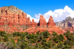 Red rocks of Sedona, USA Stock Photography