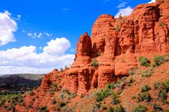 Red rocks of Sedona, USA Royalty Free Stock Images