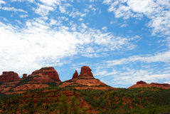 Red Rocks on a Sunny Day Royalty Free Stock Photos