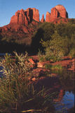 red rocks,sunset, sedona Arizona Stock Photo