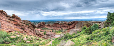 Red Rocks Theater Colorado Stock Images