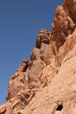 Red rocks in Valley of Fire, Nevada Stock Photo