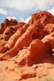 Red rocks at Valley of fire Royalty Free Stock Photo