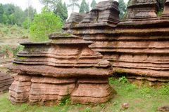 Red rocks of Zhangjiajie Stock Photo