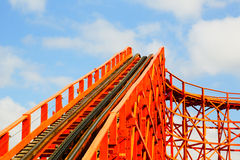 Red Rollercoaster Stock Photos