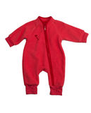 Red rompers Stock Photography