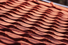 Red roof Royalty Free Stock Photos