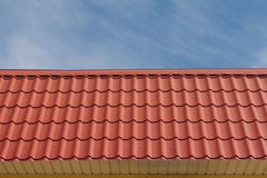 Red roof. Royalty Free Stock Photo
