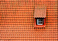 Red roof Stock Photos