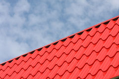 Red roof Royalty Free Stock Photo