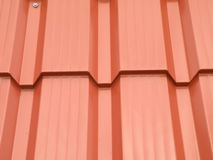Red roof abstract Stock Image