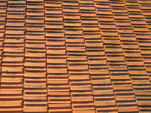 Red roof abstract Royalty Free Stock Images