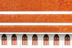 Red roof. Stock Images