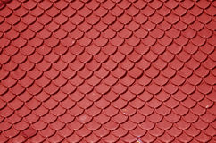 Red roof Royalty Free Stock Images