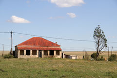 Red Roof house in Edenvale. Royalty Free Stock Photo