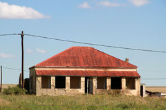 Red Roof house in Edenvale. Royalty Free Stock Photos