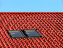 Red roof I. Royalty Free Stock Image
