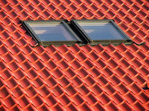 Red roof II. Stock Image