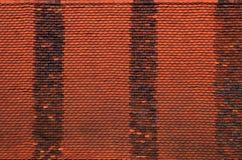 Red Roof płytki tekstura zdjęcia stock