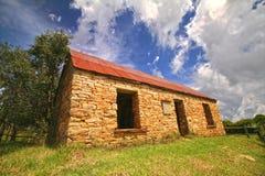 Red Roof stenar huset Arkivfoto