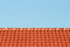 Red roof-tile Royalty Free Stock Photography