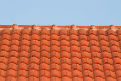 Red roof-tile Royalty Free Stock Image