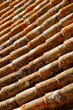 Red roof tiles Royalty Free Stock Images