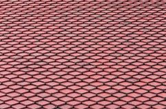 Red roof tiles. As background Stock Image