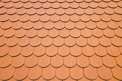 Red roof tiles background Royalty Free Stock Image