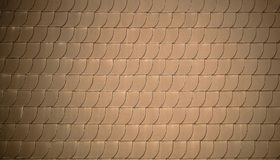 Red roof tiles like fish scales as background Royalty Free Stock Images