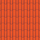 Roof tile seamless Stock Photography