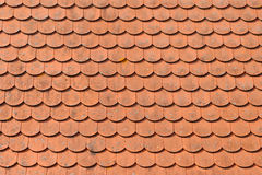 Red roof tiles texture. Stock Image