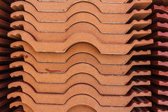 Red roof tiles Royalty Free Stock Image