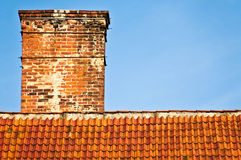 Red roof top Royalty Free Stock Photos