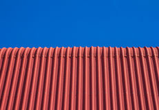 Red roof top Royalty Free Stock Photo